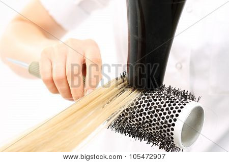 Modeling hair brush