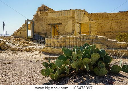 Terlingua Ghost Town home ruins