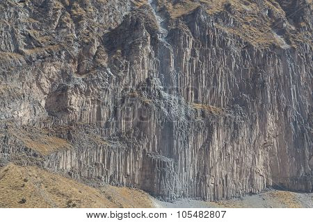 Colca Canyon Rock Formation