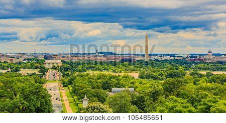 Washington Dc Cityscape