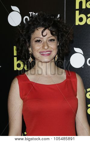 LOS ANGELES - OCT 19: Alia Shawkat at the Premiere of Nasty Baby at ArcLight Cinemas on October 19, 2015 in Los Angeles, California.