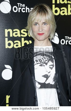 LOS ANGELES - OCT 19: Judith Godreche at the Premiere of Nasty Baby at ArcLight Cinemas on October 19, 2015 in Los Angeles, California.