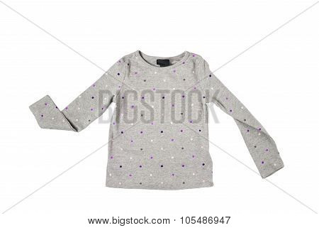 Children Gray Tshirt