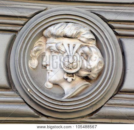 Details of Art Nouveau buildings