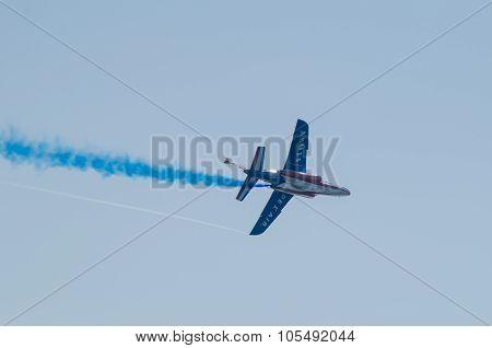 Patrouille De France At An Air Show