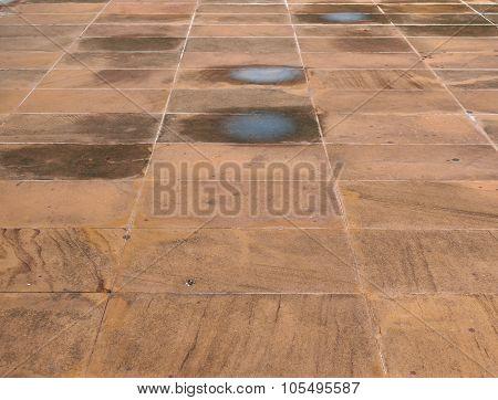 Dirty Stone Texture Floor