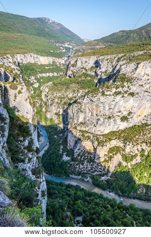 Valley Of Verdon Gorge