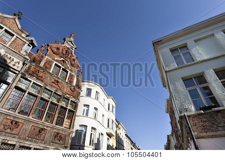 Historic Street In Ghent