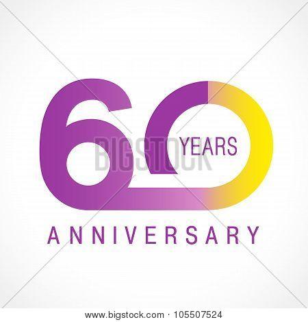 60 anniversary classic logo.