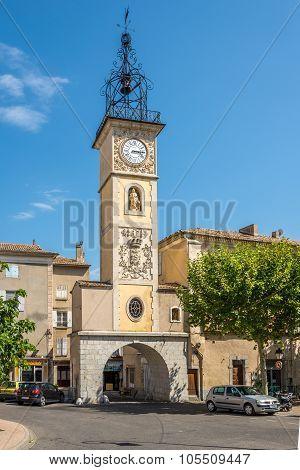Clock Tower Of Sisteron