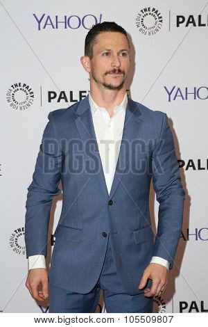 LOS ANGELES - OCT 19:  Jonathan Tucker at the An Evening with