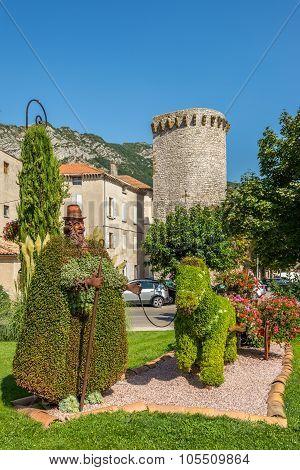 Garden Architecture In Sisteron