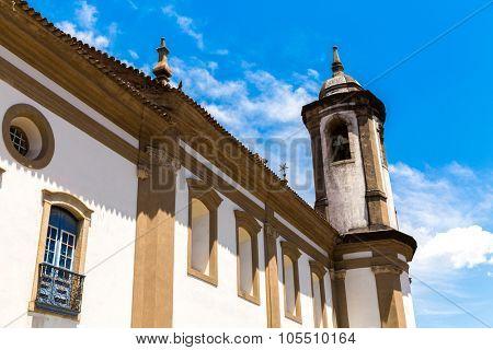 Nossa Senhora do Carmo Church in Ouro Preto, Minas Gerais, Brazil