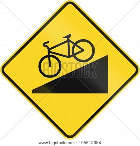 Steep Descent For Cyclists In Canada