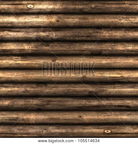 Seamlessly tiling wooden wall texture.