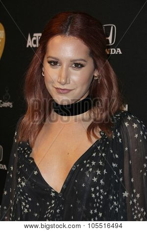 LOS ANGELES - OCT 19:  Ashley Tisdale at the Guitar Hero Live Launch Party at the YouTube Space LA on October 19, 2015 in Los Angeles, CA