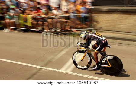 Serge Pauwels time trial