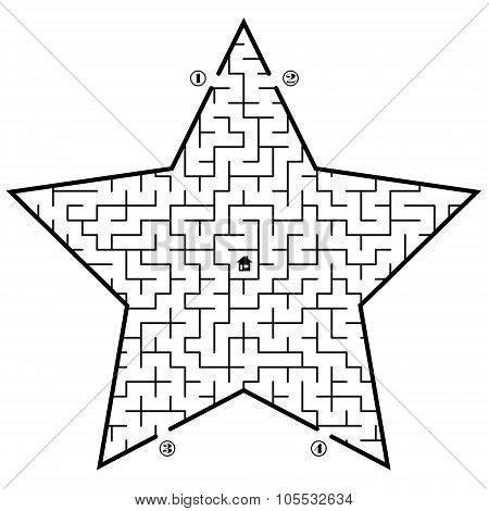 Labyrinth In Star