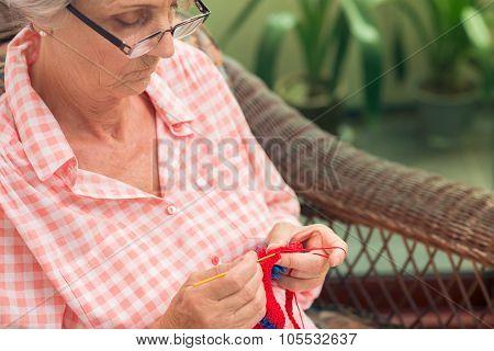 Sleeping Knitting