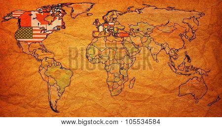 North Atlantic Treaty Organization Onl World Map