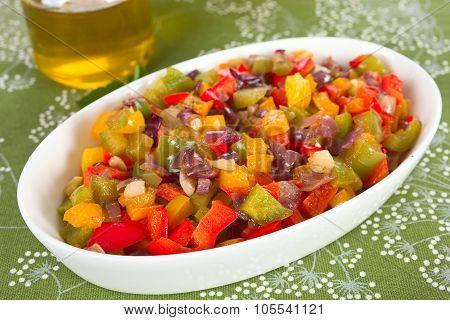 Steamed vegetable