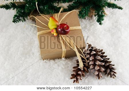 Natural Gift With Fruit Decoration