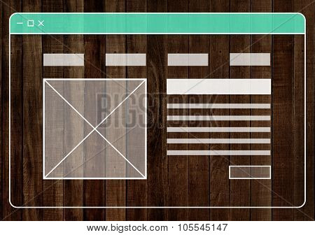 Wood Material Background Wallpaper Web Page Concept