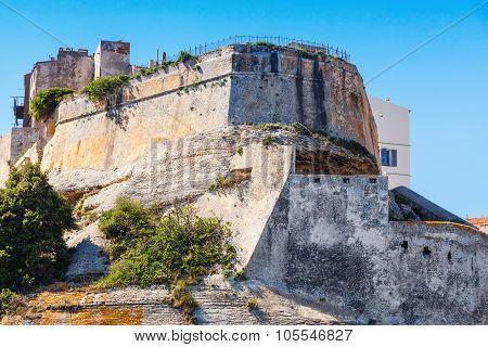 The Citadel Of Bonifacio, Corsica, France