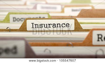 Insurance - Folder Name in Directory.