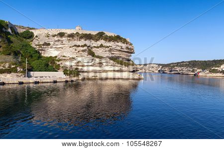 Old Fortifications Of Bonifacio, Corsica Island
