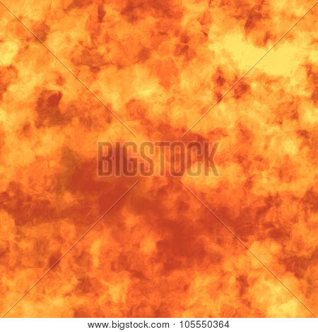 Flame Seamless and Tileable Background HD Texture