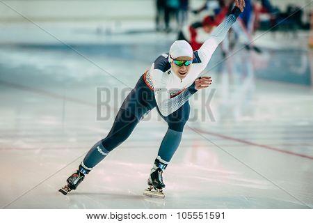 finishing spurt male skater