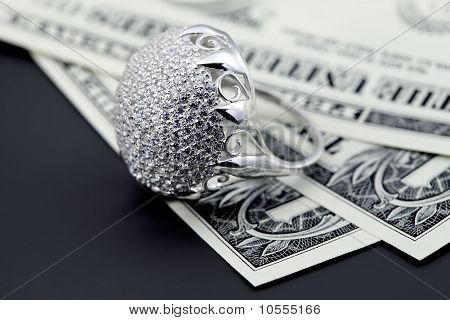 American Dollars And Jewelry Diamond Ring