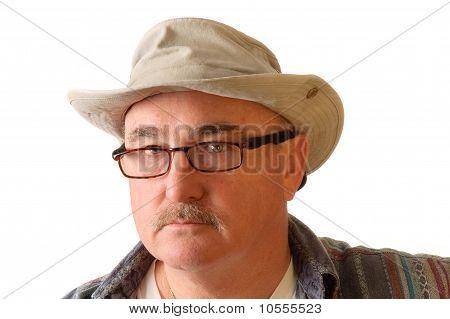 Older Man In Hat