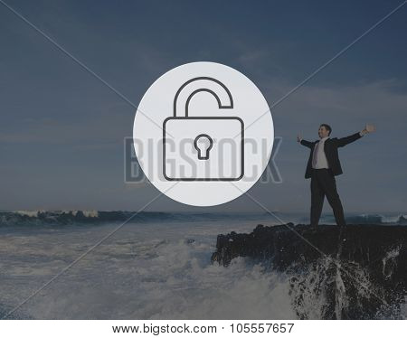 Unlock Freedom Free Liberate Unlocked Concept