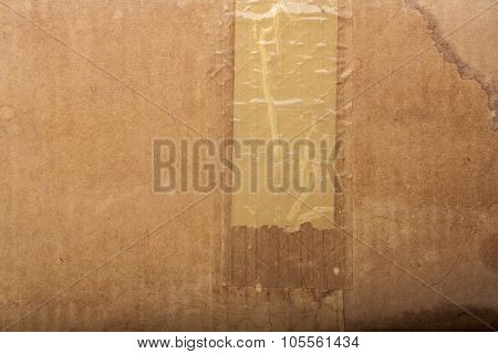 Texture Of Old Cardboard