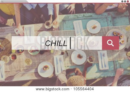 Summer Friendship Beach Vacation Chill Concept