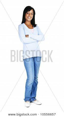 zuversichtlich junge Frau