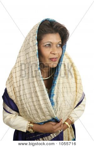 Demure Indian Woman