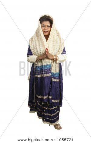 Traditional Indian Clothing Full Body