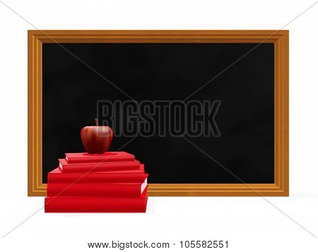 Black Board Red Apple Books