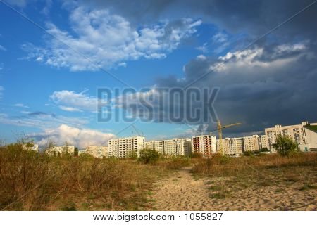 Prethunderstorm Sky