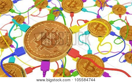 Bitcoins Connected To The Neural Network