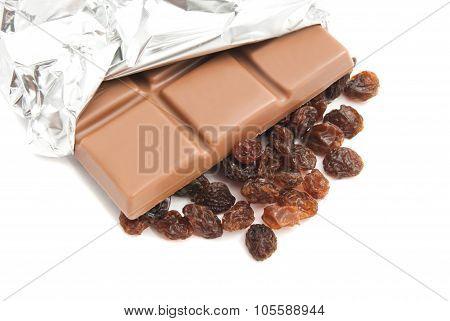Chocolate And Raisins