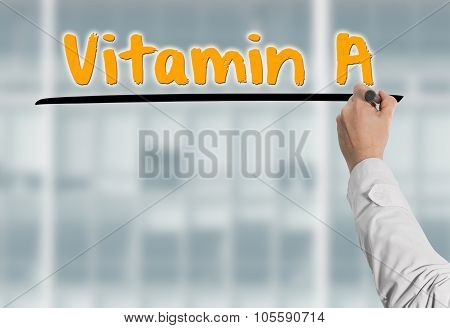 Doctor Writes Vitamin A
