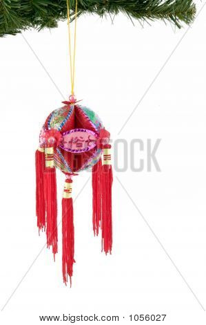 Chinese Christmas Bauble