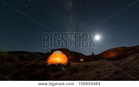 Camping Under The Star