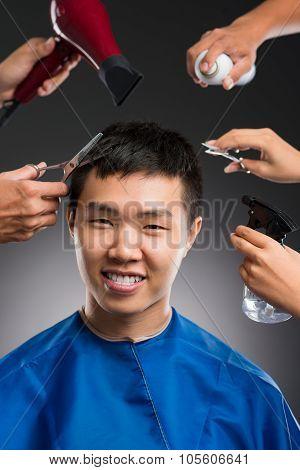 Man's Hairdo