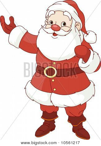 Santa Claus Showing