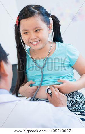 Little Patient Examining